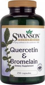 Swanson Quercetin & Bromelain (250 Capsules)