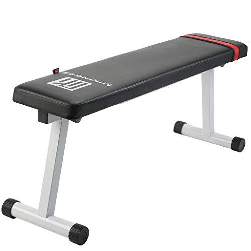 Multifunktions-Hantelbank, zusammenklappbares Heim-Trainingsgerät Fitness-Stuhl Flaches Bankdrücken Einstellbare Bank Römischer Stuhl