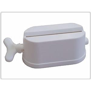 Tubenpresse Tubenentleerer Tubenausdrücker, mit integriertem Ständer, weiß *Top-Qualität zum Top-Preis*