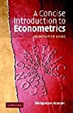 A Concise Introduction to Econometrics: An Intuitive Guide
