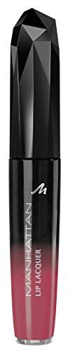 Manhattan Lip Lacquer intense colour & gloss n°20N Tempting Red, 5,5 ml.