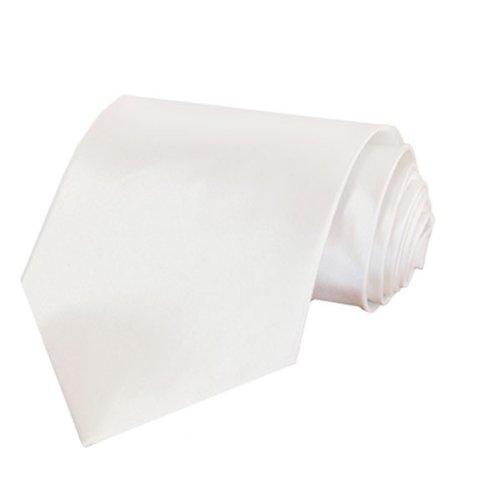 Kebello Cravate Satin Blanc
