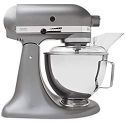 KitchenAid 5KSM45ESL Robot pâtissier, Silver