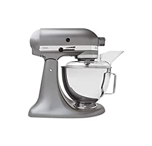 KitchenAid 5KSM45BSL Stand Mixer, Silver: Amazon.co.uk