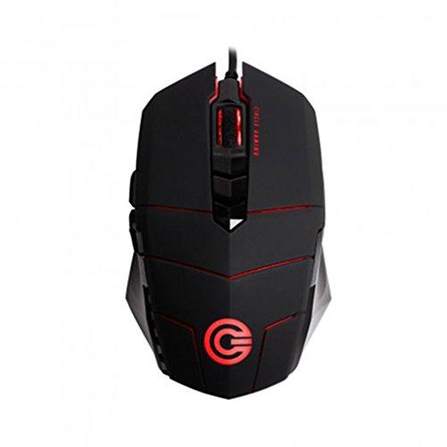 Circle Marksman 2 - 4000 Dpi Ultra-Fast Super-Precise Gaming Mouse / 5 Speed Dpi / Optical Sensor Avago A3050 / In-Built Memory 64 Kb- Black