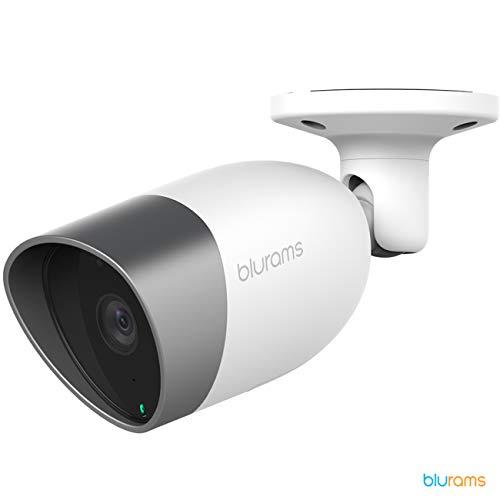 Blurams Outdoor Lite 1080p FHD Überwachungskamera Outdoor Dome Camera für Haus - Intelligente Bewegungserkennung WiFi-Lautsprecher/Sound IP65 Wasserdicht Echtzeit-Warnungen (iOs & Android)