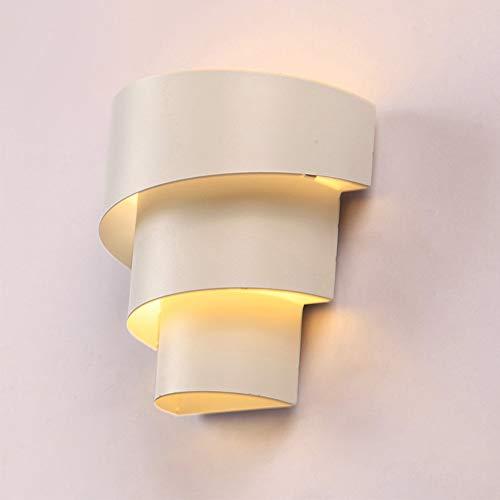 LJJY Engineering Wandleuchte einfache Metall DREI-Schicht Wandleuchte kreative schmiedeeisen biegen schweißen Farbe Augen Wandleuchte (senden led-leuchten) 17 * 18 cm (Engineering Schweißen)