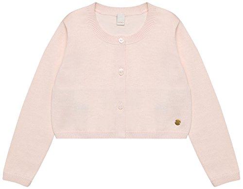 ESPRIT Kids Mädchen Strickjacke RL1803301, Rosa (Old Pink 320), 128 (Herstellergröße: 128/134)