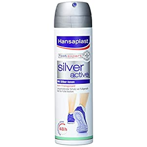 Hansaplast Silver Active Fussspray, 150 ml