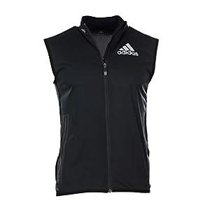 adidas Athleten Weste Vest Running Laufweste schwarz XS S M L XL XXL Sport Jacke