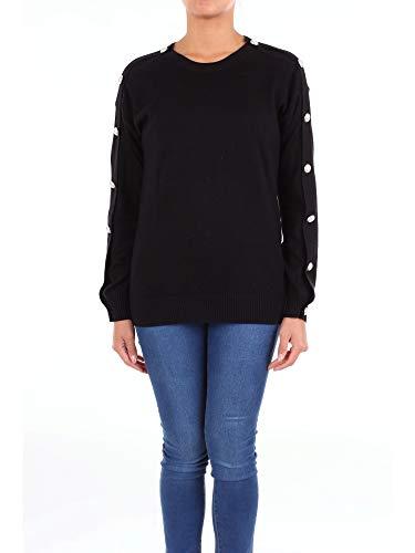 Michael Kors Winter Pullover (Michael MICHAEL KORS MH76MGEMP5 Pullover Damen schwarz L)