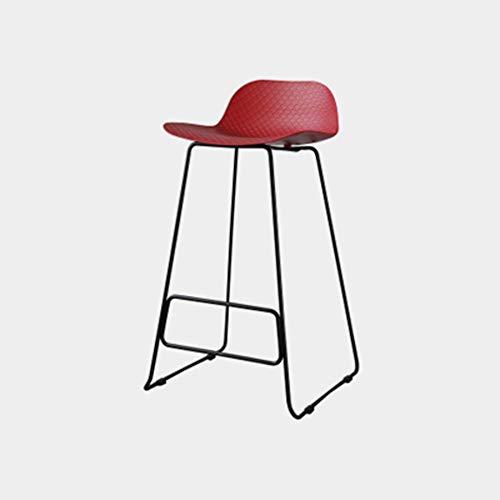 Rückenfreies Küche Hocker (OaLt-t Metallhocker Barhocker 24 Zoll Höhe stapelbar Indoor Outdoor Dining rückenfreie Küche Barhocker (Color : E))