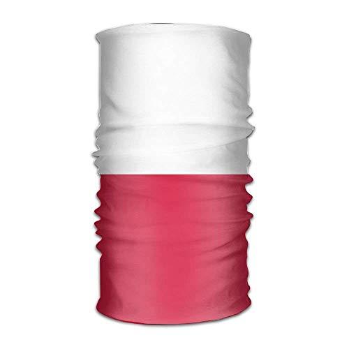 Vidmkeo Bandiera della Polonia Unisex varietà Sportiva Sciarpa a Testa di scialo Outdoor6