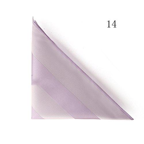 ZJM Mouchoir Carrée De Poche Costumes Pour Hommes Affaires Mariage 20 Couleurs Au Choix carrée Hanky ( Couleur : #06 ) #14