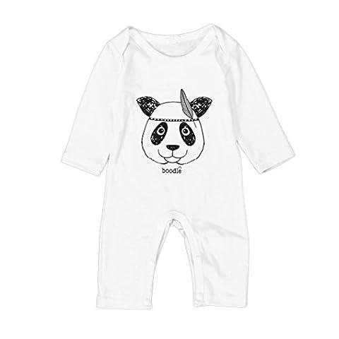 IGEMY - Sweat-shirt à capuche - Bébé (garçon) 0 à 24 mois blanc blanc 6 mois - blanc - 18 mois
