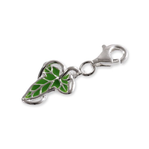The Hobbit Jewelry Unisex-Charm Leaf 925 Sterling Silber 19009981 Drache Charm Bead