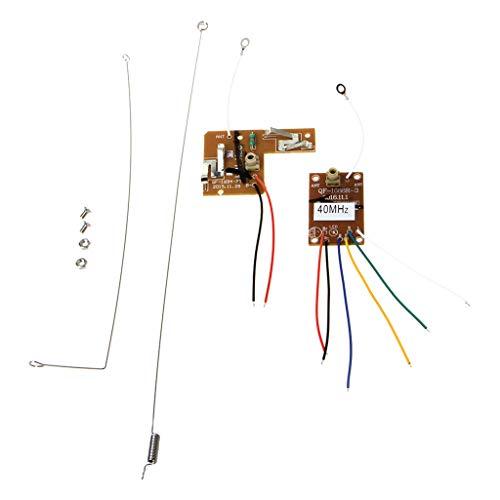 4CH 40MHZ Fernsender Und Empfänger-Brett Mit Antenne Für DIY RC Auto-Roboter Uhf-signal-booster