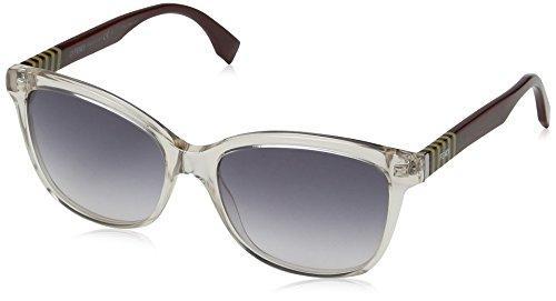 Fendi occhiali da sole ff 0054/s bd occhi di gatto, donna, mqx