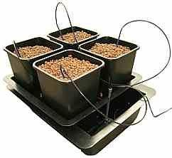 Atami Wilma 4 Pot Hydroponic Dripper System