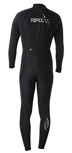 Rip Curl Dawn Patrol 4/3mm GBS Back Zip Steamer Wetsuit BLACK WSM4EM Wetsuit Sizes – Small - 2