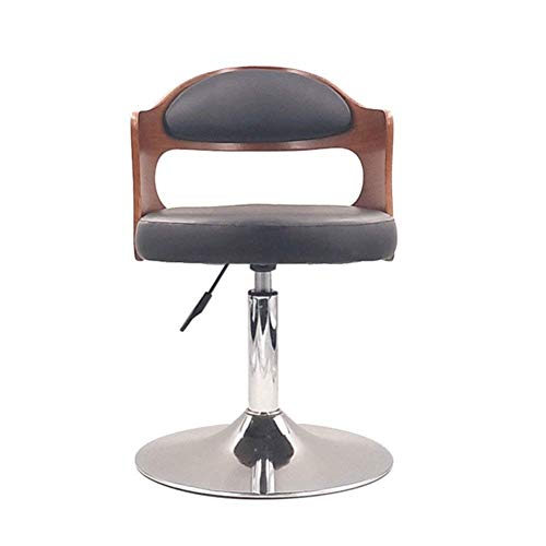 European Bar Stool Lift Rotating Bar Chair Cash Register High Stool Home Beauty Front Back Stool Pleasant In After-Taste Furniture