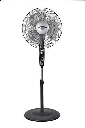Orbegozo SF 3347 - Ventilador de pie, 3 velocidades, temporizador de hasta 2 horas, 40 cm de diámetro...