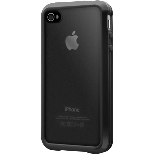 SwitchEasy Trim Hardcover Hülle für Apple iPhone 4S 4 weiß white Schwarz