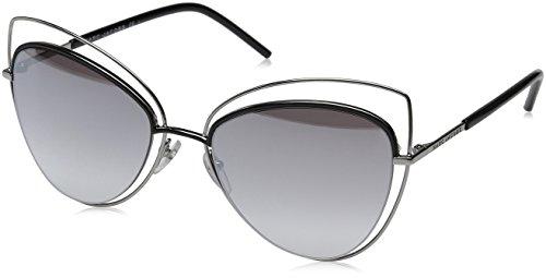 Marc Jacobs Damen MARC 8/S FU 25K 56 Sonnenbrille, Ruthblackblk/Gry Sf Slv Sp,