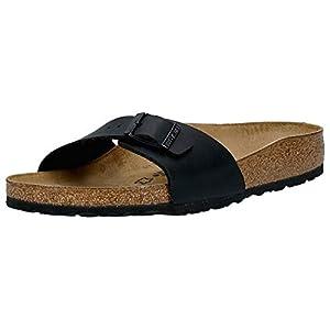 Birkenstock Madrid Unisex-Adults' Sandals Black (Schwarz) - 5 UK