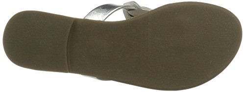 PMS Scratchy Slipper, Mocassins Femme Mehrfarbig (silver/white)