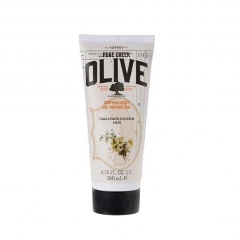 KORRES Pure Greek Olive Natural Olive Honey Body Cream, Vegan