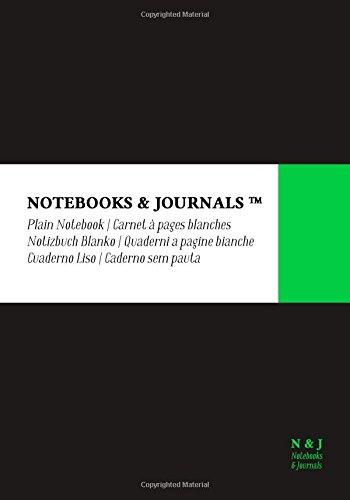 Quaderni Notebooks & Journals, Extra Large, Bianchi, Nero, Soft Cover: (17.78 x 25.4 cm)(Taccuino appunti,Taccuino di viaggio)