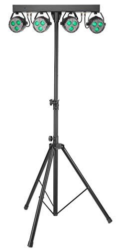 Stagg SLB 4P34-41-2 Licht Set - inkl. Stativ und Remote Contr. - Remote-licht-set