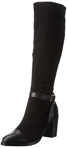 Schutz Damen Urban Strech Leg Reitstiefel Schwarz (Black)