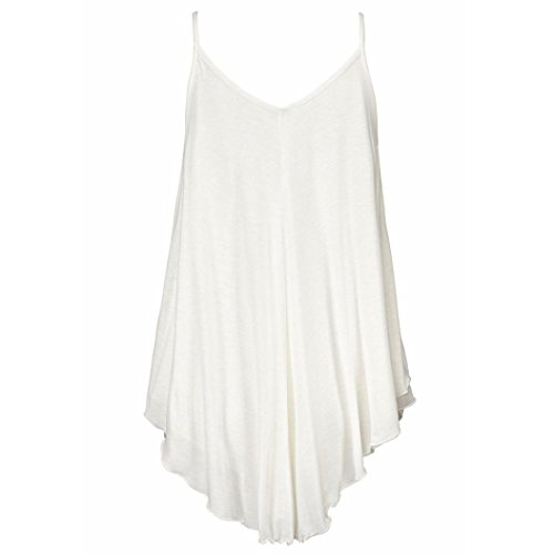 Vest Donna Vovotrade Sequins V Neck Chiusura Donna Estate bianca