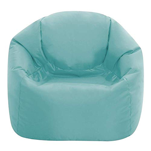 Bean Bag Bazaar® Kinder Sitzsack - Sitzsack Sessel für Kinder - Innen Außen (Wasserabweisend) (Hellblau, Mittel)
