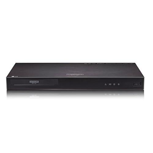31lc8tW9YRL. SS500  - LG UP970 4K Ultra HD HDR Blu-Ray Player - Black