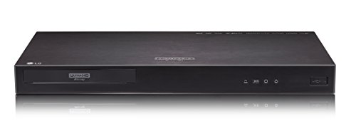 LG UP970 - Reproductor de Blu-Ray (3D, DTS-HD Master Audio,Dolby Digital Plus,TrueHD)