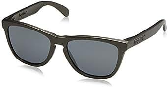 Oakley Men's Frogskins Sunglasses, Black (Lead), 55
