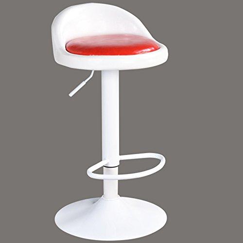 Back-stil Barhocker (Stilvoller Barhocker / vorderer hoher Stuhl / Kassierbarhocker / europäischer Barhocker / einfacher Schemel Hebebarstuhl ( Farbe : 7 ))