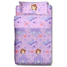 Disney - Juego de cama infantil con diseño de la princesa Sofia (3 piezas)