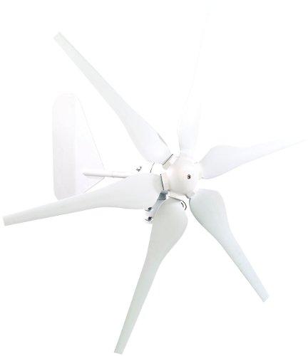 reVolt Windrad: Windgenerator für 12-Volt-Systeme, 300 Watt (Windkraftanlagen)
