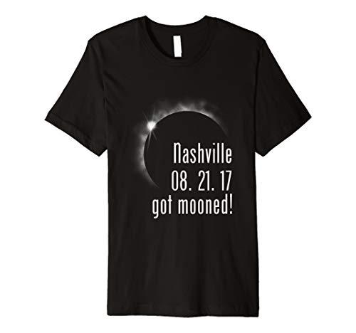 Nashville Tennessee Solar Eclipse Souvenir Funny T -