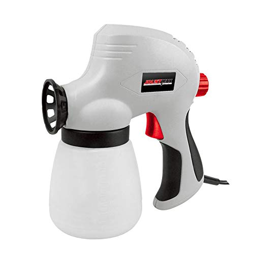Pistola eléctrica Pulverizador de pulverización Zoom Pistola pulverizadora para cercas, techos, paredes, pisos y más
