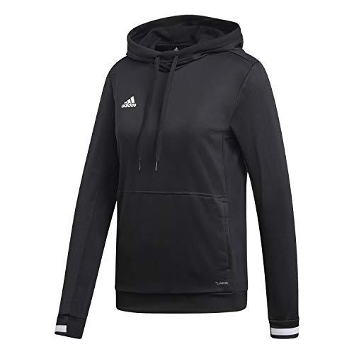Adidas T19 Hoody W Sweat-Shirt Femme, Noir/Blanc, FR : M (Taille Fabricant : M)