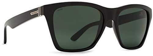 Von Zipper Polarisierte Sonnenbrillen Booker Schwarz Gloss-Wildlife Vintage Grau (One Size , Schwarz)