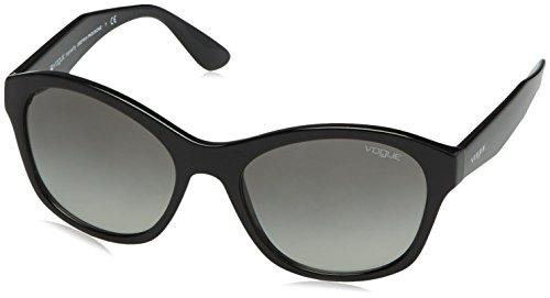 Vogue vo2991s, occhiali da sole unisex-adulto, nero (black w44/11), taglia unica (taglia produttore: one size)