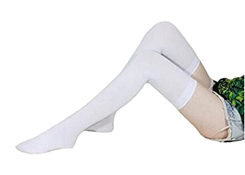 WOCACHI Damen Frauen Mode über Knie Hohe Versuchung Stretch Nylon Socken Kniestrümpfe (42cm/16.54