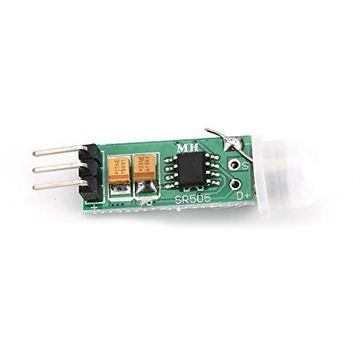 HoganeyVan Multimeter 2 HC-SR505 Mini Infrared PIR Motion Sensor Precise Infrared Detector Module for Arduino Body Sensor Switch Module Sensing Mode Current Sensing Switch