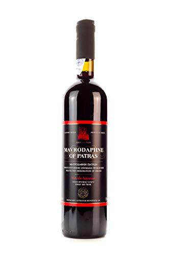 Mavrodaphne Loukatos 15{fbb6b7a81594034222382700ebb820bf237ae8ec2b69a054bbbecd7242045a4c} 750ml Flasche griechischer Süßwein Likörwein